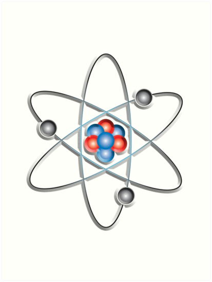 Atom Atomic Lithium Atom Model Small Physics Neutrons Protons
