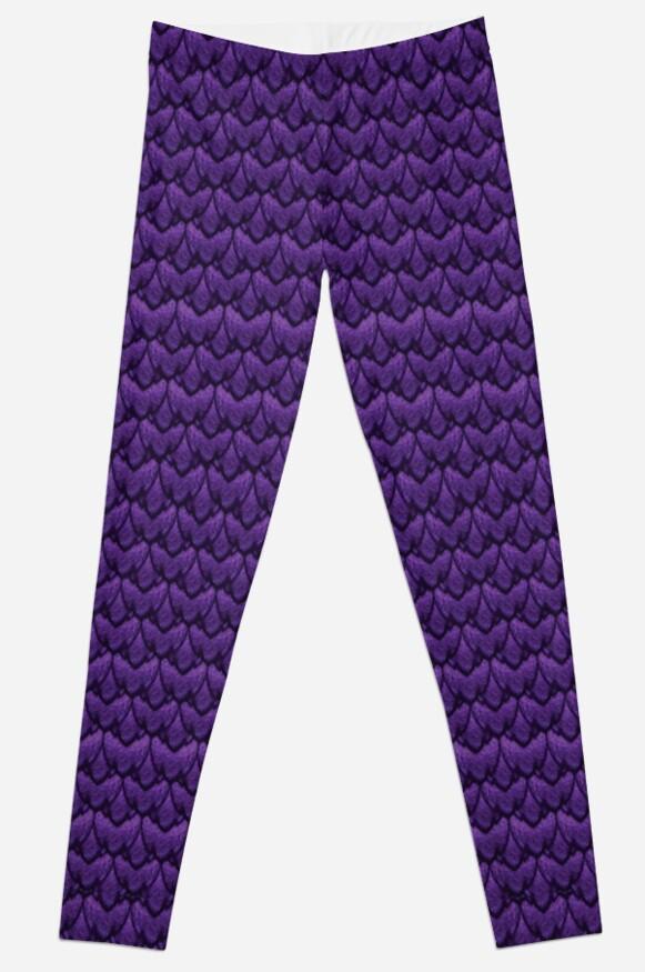 Purple Dragon Scales! by SilentNoiseArt