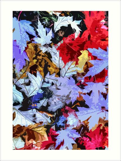 Magical Colors of Autumn by Andrea Mazzocchetti
