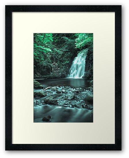 Glenoe Waterfall by RobinWinsby