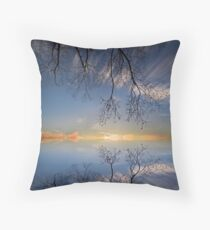 Quiet times.  Throw Pillow