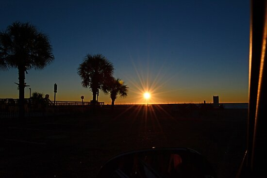 Sunrise This Morning Jan 20th 2014 by TJ Baccari Photography