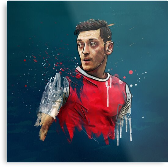 Classic Özil by Mark White