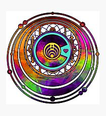 Psychedelic Bassnectar Fractal Colorado Love Photographic Print