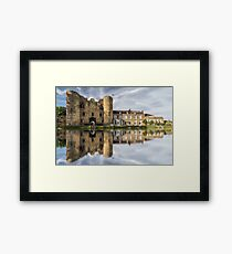 Tonbridge Castle Reflections 2 Framed Print