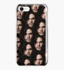kit harington's head on repeat iPhone Case/Skin