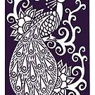 Purple Peacock by baggelboy