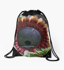 Sun Flower Bird Feeder Drawstring Bag
