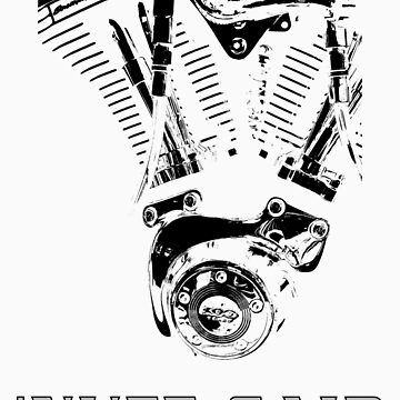 Harley - 'nuff said (black on white) by DuncanW