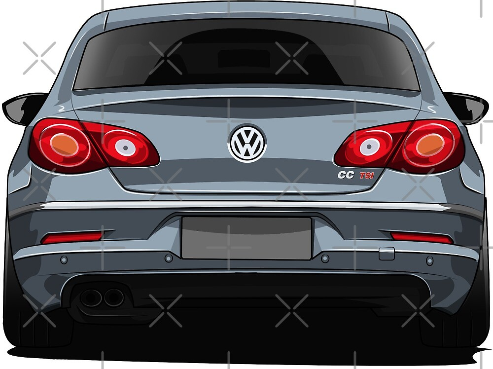 Volkswagen CC Rear View by xEver