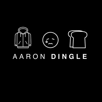 Aaron Dingle | Black Background by xloz91x