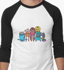 Adorable Aliens Men's Baseball ¾ T-Shirt
