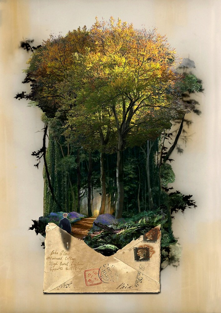 John Clare dreaming about Epping Forest by jef-winter