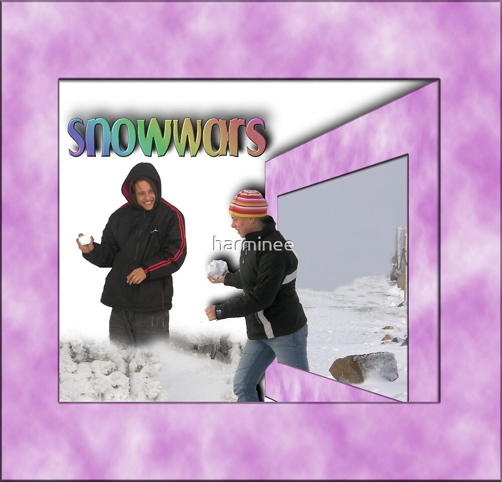 Snow Wars by harminee