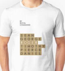 My favorite James Bond is... Roger Moore T-Shirt