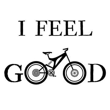 I Feel Good Bike T-Shirt by arturpenteado