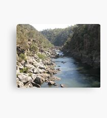 Launceston Gorge Canvas Print