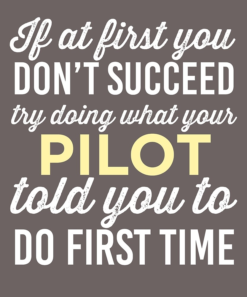 Do It Like Pilot Told You by AlwaysAwesome