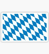 flag of bavaria Sticker