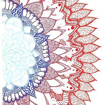 Mandala. by Cateateate