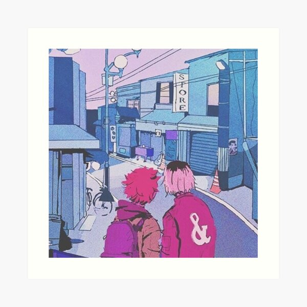 Osaka Street Punks Impression artistique