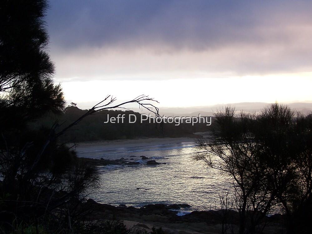 Moruya River Sunset by Jeff D Photography