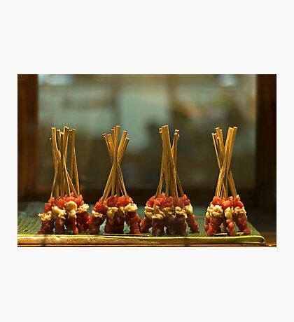 Dancing Satay Photographic Print