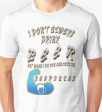 - Funny beer saying. T-Shirt