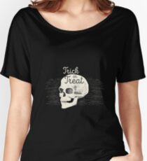 Halloween trick or treat Women's Relaxed Fit T-Shirt