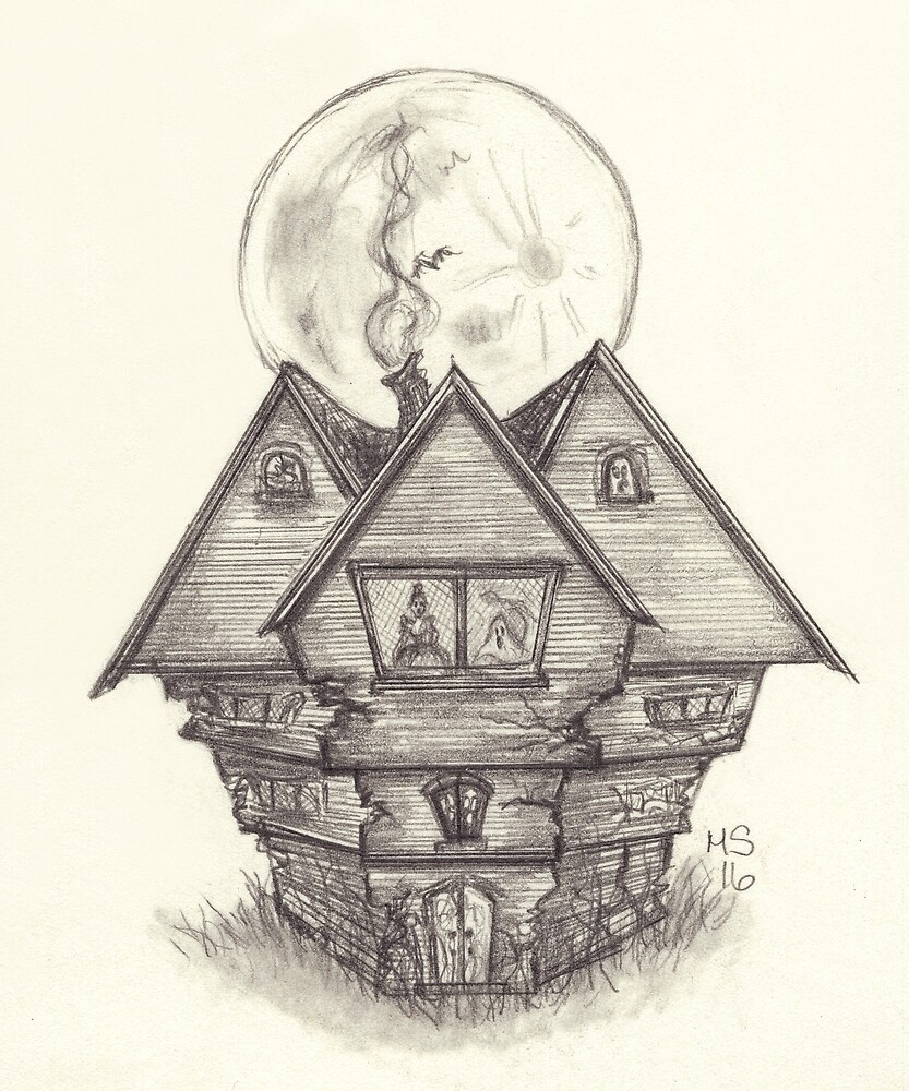 Salem Witch House by PixlPixi