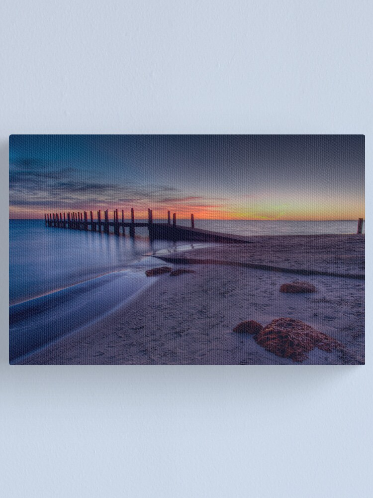 Alternate view of Milky Water Canvas Print