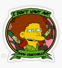 Damn Vegetables Sticker