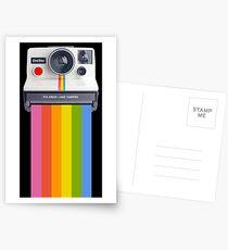 Polaroidkamera T-Shirt T-Shirt Postkarten