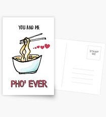 You and Me Pho' Ever Postcards