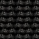Vintage Bicycle Pattern by illustrateme