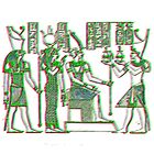 Egyptian Gods by indusdreaming