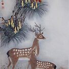 Two Deers by Thanh Duong