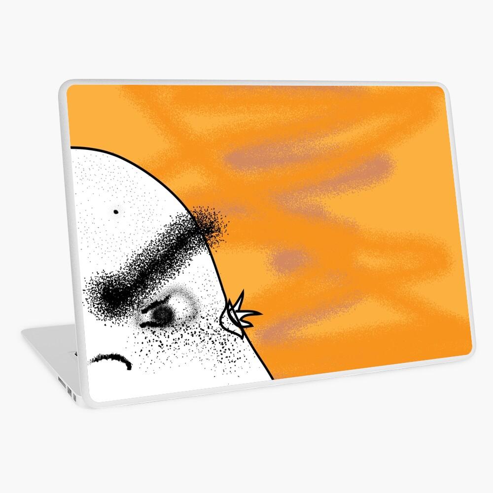 Angry Potato Man Laptop Skin