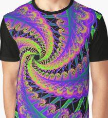 Stitching Graphic T-Shirt