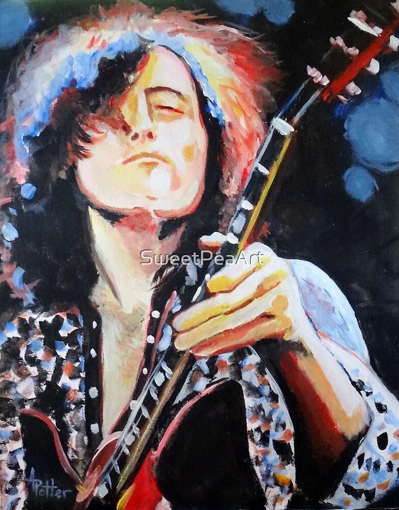 Jimmy Page by SweetPeaArt