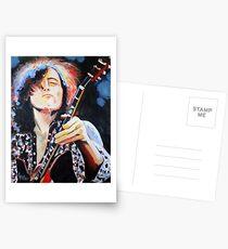 Jimmy Page Postcards