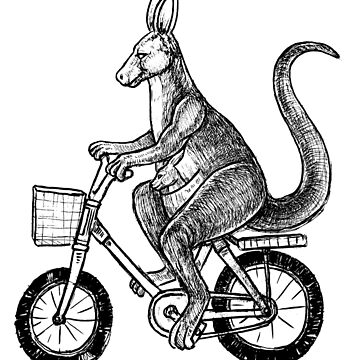 kangaroo love bike by toshibung