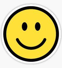 Lächelndes Gesicht Sticker