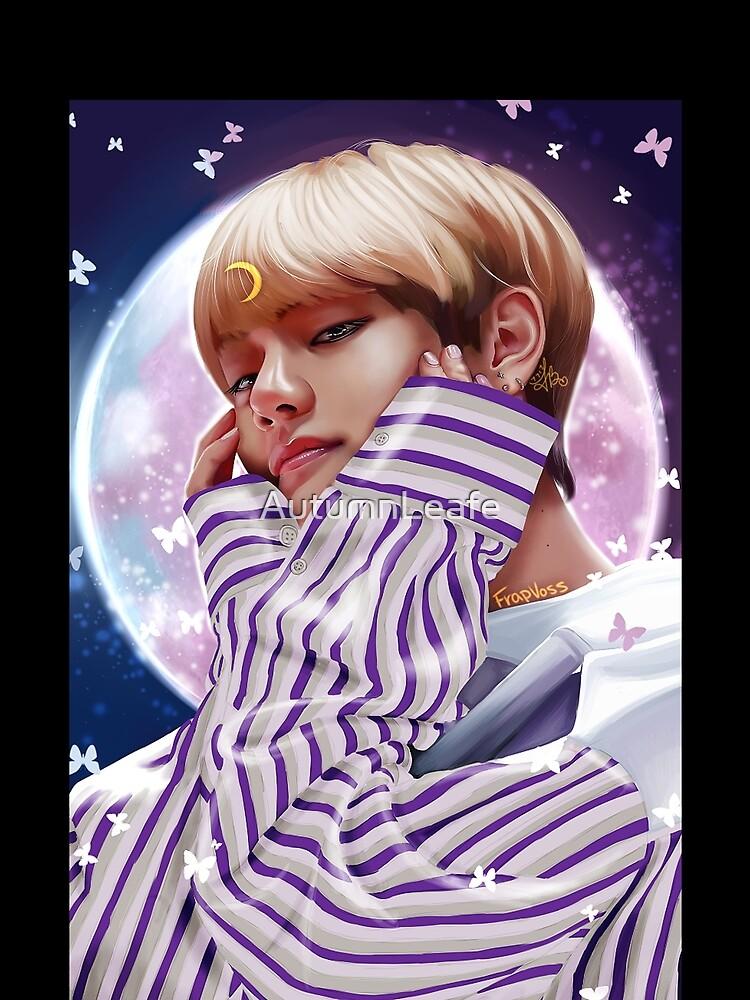 """Moon Child"" BTS V by AutumnLeafe"