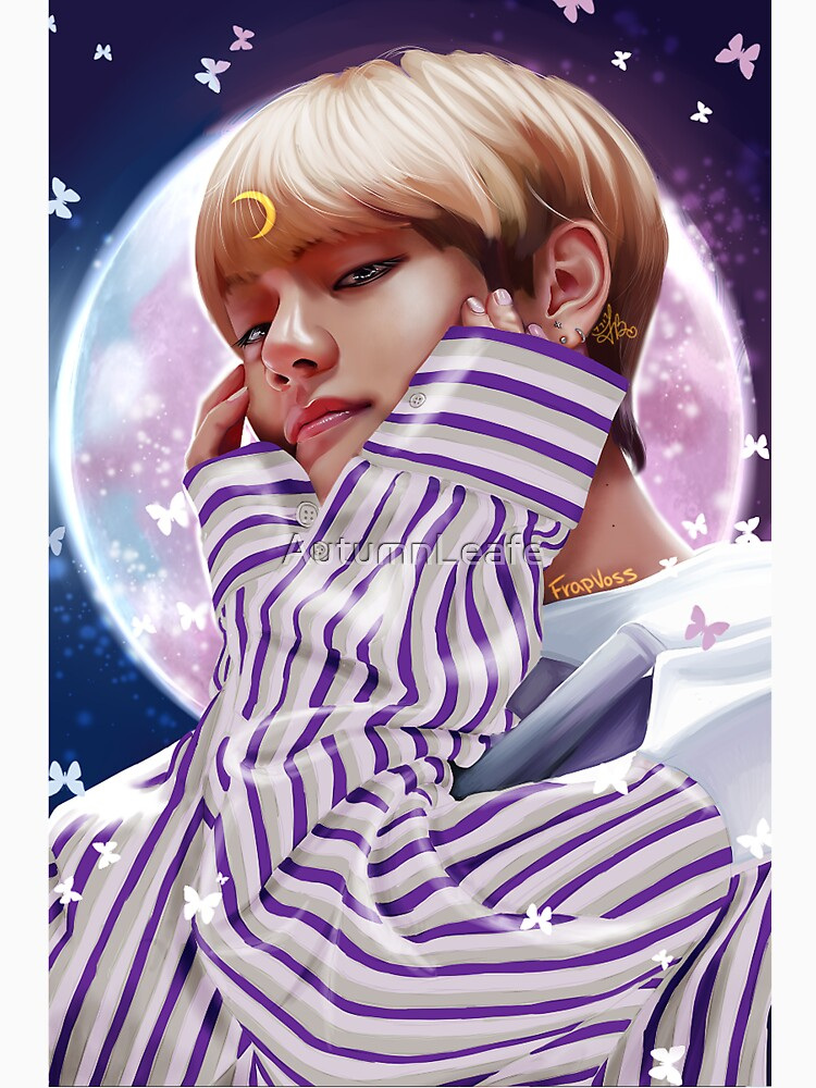 """Moon Child"" BTS V by AutumnLeafe"