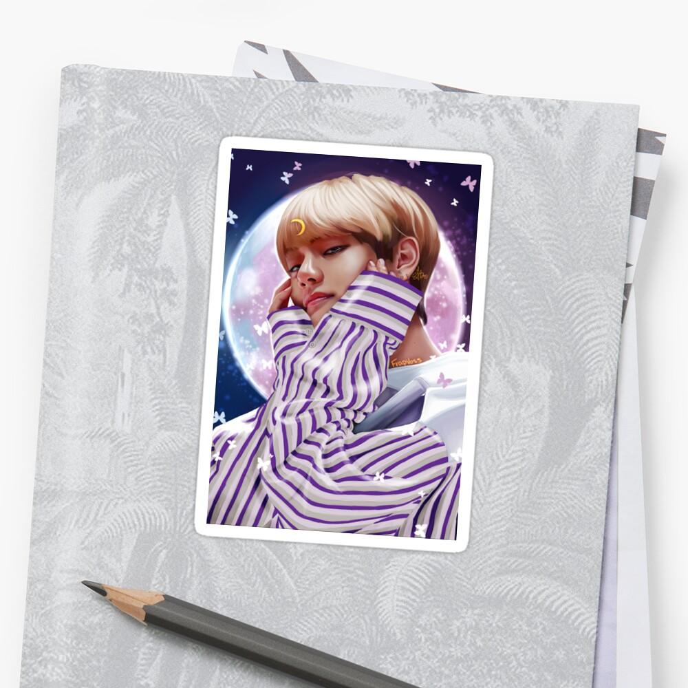 """Moon Child"" BTS V Sticker"