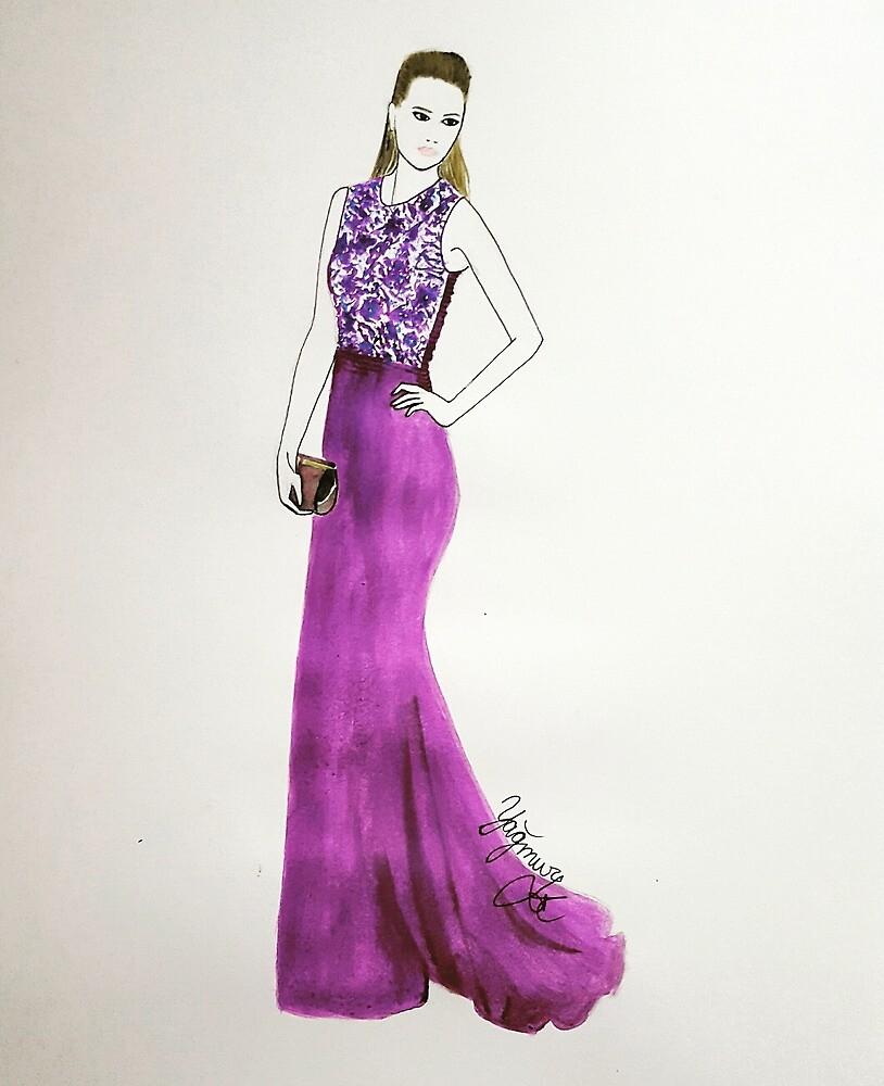 Purple elegance by yagmurkoyuncu