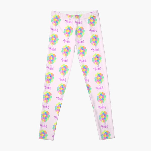 Pup Pup and Away! - Pink Leggings