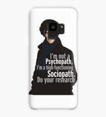 Sherlock - Psychopath/ Sociopath Case/Skin for Samsung Galaxy