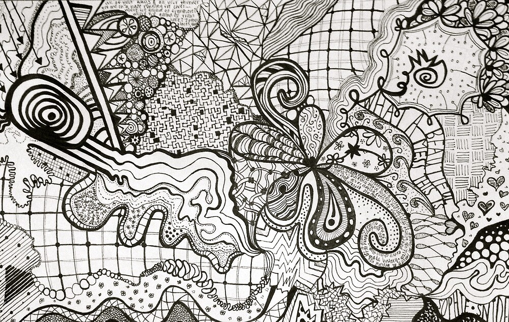 Zentangle  by sophiesnider